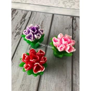 Подарочный Букет тюльпанов из мыла