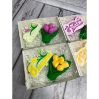 Набор 8 марта с тюльпанами 3
